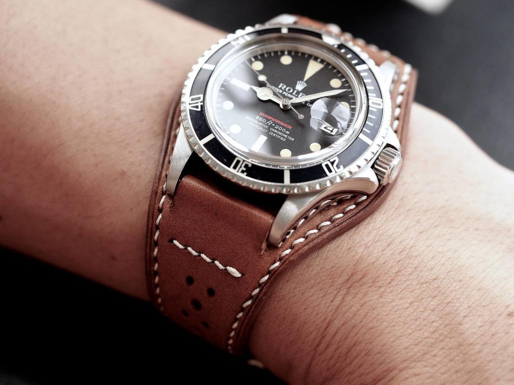 klockarmband i bund stil för en riktigt klockmaster